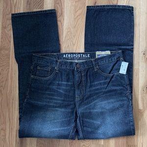 Aeropostale Benton Original Bootcut Jeans, 34/34